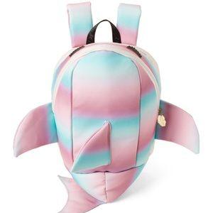 Betsey Johnson Kitsch Shark Backpack Bag NWT